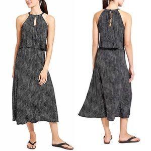 Athleta Delhi Flowy Summer Midi Dress size L